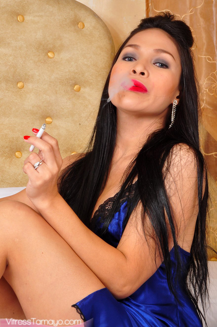 Shemale smoking fetish